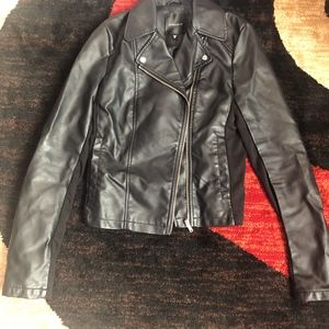 Dynamite EUC Vegan Leather Jacket